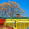 Red Yellow And Blue Building by Jess Kraft