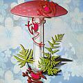 Redfrog And The Magic Mushroom by Andrea Ribeiro