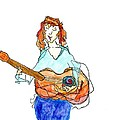 Redhead Player by Jim Taylor
