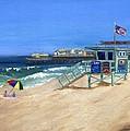 Redondo Beach Lifeguard  by Jamie Frier