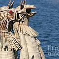 Reed Boat Lake Titicaca by Jason O Watson