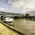 Reedham Swing Bridge  by Rob Hawkins