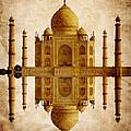 Reflected Taj Mahal by Daniel Hagerman