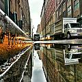 Reflecting Nyc by Shmuli Evers