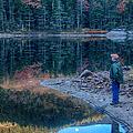 Reflecting On Fall Foliage Reflection by Jeff Folger