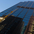 Reflecting On Skyscrapers - Downtown Atmosphere by Georgia Mizuleva
