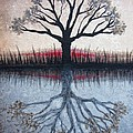 Reflecting Tree by Janet King