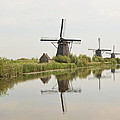 Reflecting Windmills by Phyllis Taylor