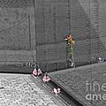 Reflection At The Wall II by Ken Killion
