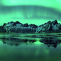 Reflection Of Aurora Borealis by Panoramic Images