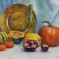 Reflection Of Fall by Iryna Hamill