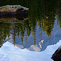 Reflection Of Longs Peak by Tranquil Light  Photography