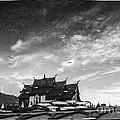 Reflection Of Royal Park Rajapruek Temple In The Water  by Setsiri Silapasuwanchai