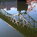 Reflection Of The Gay Street Bridge by Douglas Stucky