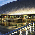 Reflection Of The Glasgow Science by Panoramic Images