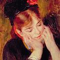 Reflection by Pierre Auguste Renoir