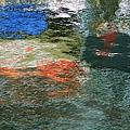 Reflections And Jellyfish In Ketchikan by Karen Molenaar Terrell