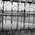 Reflections At Low Tide by Beth Akerman