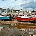 Reflections At Low Tide by Cheryl Baxter