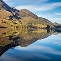 Reflections In Buttermere Uk by Tomas Urban