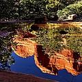 Reflections In Sedona by Walt Sterneman
