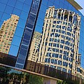 Reflections In The Rolex Bldg. by Robert ONeil