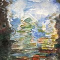 Reflections In The Water  by Milla Nuzzoli
