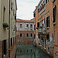 Reflections In Venetian Canal by Tony Murtagh