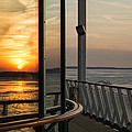 Reflections Of A Chesapeake Sunset by Bill Swartwout Fine Art Photography