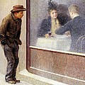 Reflections Of A Hungry Man Or Social Contrasts by Emilio Longoni