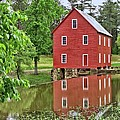 Reflections Of A Retired Grist Mill by Gordon Elwell