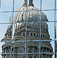 Reflections Of The Capitol by Christi Kraft
