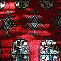 Reflections On A Persian Rug by Michele Myers
