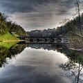 Reflections On Adda River by Roberto Pagani
