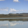 Reflections On Lake Abert by Ray Finch