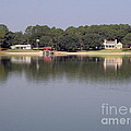 Reflections - On - Lake Weir by D Hackett