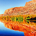 Reflections On The Colorado River by Bob and Nadine Johnston