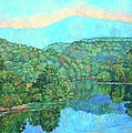 Reflections On The James River by Kendall Kessler