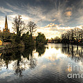 Reflections Over Lichfield by Rob Hawkins