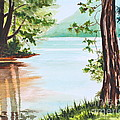 Reflections At Cowans Gap by Tricia Lesky