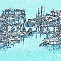 Reflective Blue by Patrick Witz