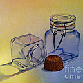 Reflective Still Life Jars by Brenda Brown