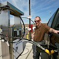 Refuelling A Natural Gas Vehicle by Jim West