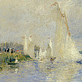 Regatta At Argenteuil by Pierre Auguste Renoir