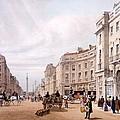 Regent Street, Looking Towards The Duke by Thomas Shotter Boys