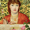 Regina Cordium Alice Wilding, 1866 by Dante Gabriel Charles Rossetti