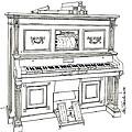 Regina Player Piano by Ira Shander