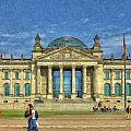 Reichstag Berlin Ger5105 by Dean Wittle