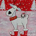 Reindeer Booties by Julie Brugh Riffey