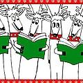 Reindeer Choir by Genevieve Esson